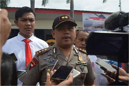 Kapolres Pastikan TPS di Kota Ambon, Aman