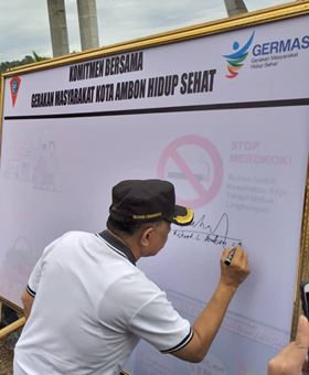 Besok, Seluruh Pejabat Pemkot Teken Komitmen Stop Merokok