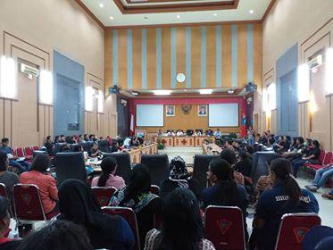 Honorer K-II Tagih Janji Anggota DPRD Kota Ambon