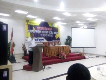 Workshop Pemanfaatan KUM Bagi Pelaku Usaha Kota Ambon