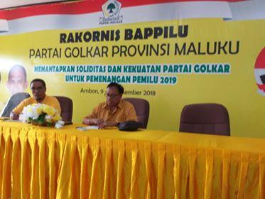 Konsolidasi Pemilu 2019, Ketum Golkar Temui Kader di Maluku