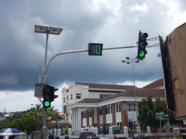 """Dukung Ambon Kota Musik, Traffic Light """"Disulap"""""""
