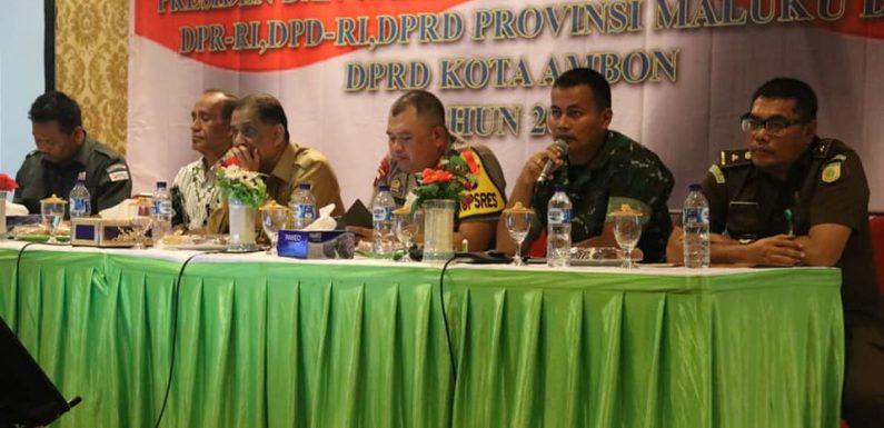 491 Personil Kodim Siap Back-up Polres Amankan Pemilu