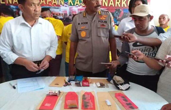 Lagi, Polisi Bandar Narkoba Diringkus Polisi