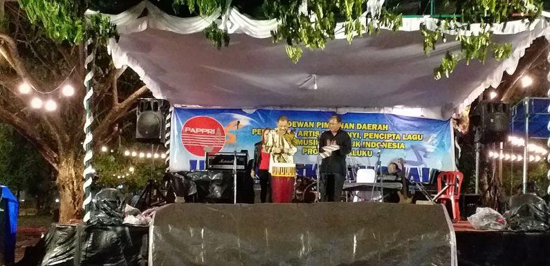 HMN 2019, Walikota Harapkan Musisi Maluku Terus Eksis