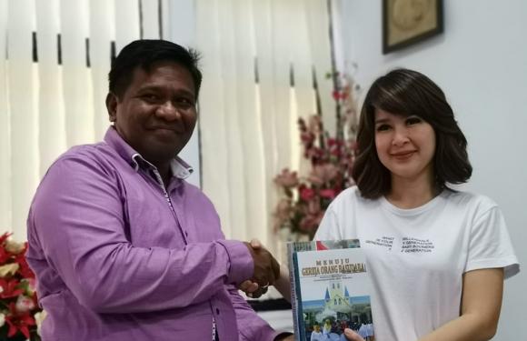 Ketum PSI Silaturahmi ke Pimpinan Agama Maluku