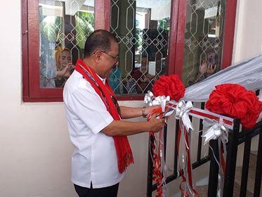 Didanai APBN, Walikota Resmikan RKB SMPN 2 Ambon