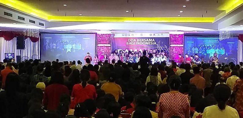 Kota Ambon Berdoa Untuk Indonesia