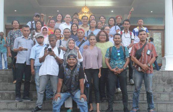 Silaturahmi Terakhir, Gubernur-Wagub: Terima Kasih Pers Maluku
