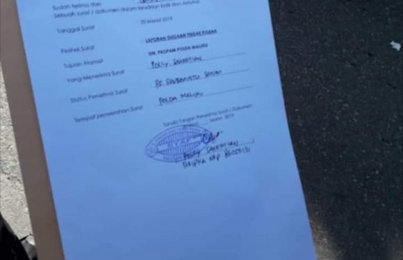 GMKI Lapor Oknum Polisi Anarkis ke PROPAM Polda Maluku
