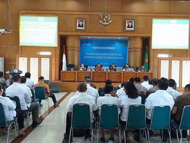 KPK Fokus Awasi & Evaluasi Tiga Sektor di Maluku
