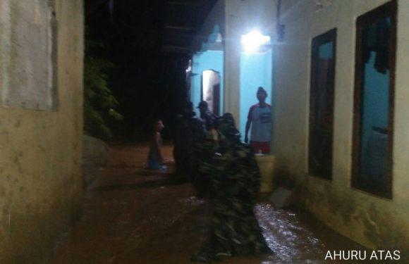 25 Menit Hujan, Empat Rumah Di Ahuru Terendam Banjir