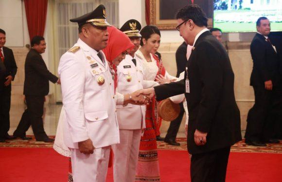 Murad-Orno Resmi Pimpin Maluku