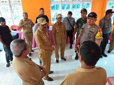 Forkopimda Kota Ambon Tinjau TPS di Lima Kecamatan