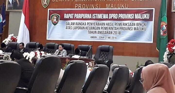 Maluku Raih Opini WDP, BPK Beri Catatan Kritis