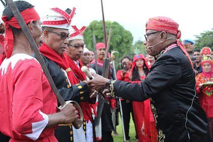 202 Tahun Pattimura, Gubernur Dikukuhkan Jadi Upu Latu