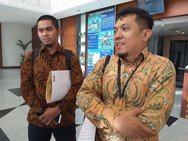 Sekda Maluku, Saleh Thio & Sekkot Klarifikasi LHKPN ke KPK