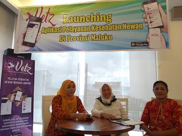 Pelayanan Kesehatan Hewan Lewat Aplikasi, Vetz Hadir di Ambon