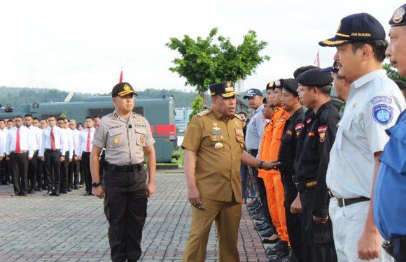 Pengamanan Ops Ketupat Siwalima, Gubernur Cek Kesiapan Pasukan
