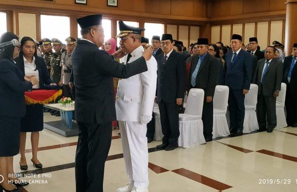 Lantik Noach Bupati MBD, Gubernur Tegaskan Empat Hal