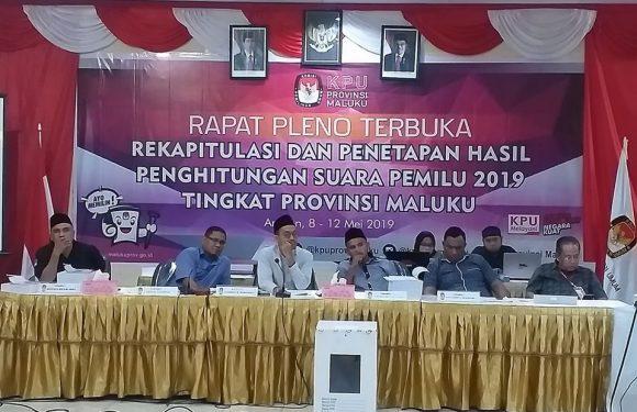 Data Tual Amburadul, Pleno KPU Mengambang, Bawaslu Bersikap