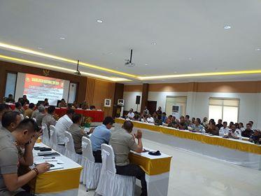 Jelang Idul Fitri, Polda Maluku Kumpul Lintas Sektor