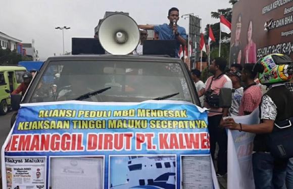 Pemuda MBD Desak Kejati Tuntaskan Kasus KMP Marsela