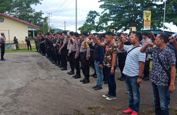 Festival Bakupukul Manyapu Mamala-Morela Diamankan TNI/Polri