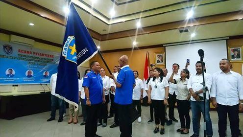 DPC GAMKI Ambon Dilantik, Ini Pesan Walikota