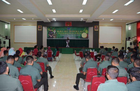 Pererat Silaturahmi, Korem 151/Binaiya Lakukan Halal Bihalal