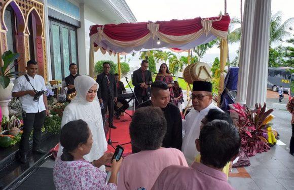 Open House Lebaran Gubernur Maluku Diwarnai Tari Tore