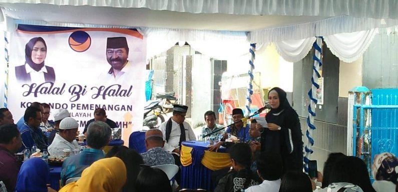 Halal Bi Halal, Momen Tabayun & Syukuran Prestasi NasDem Maluku