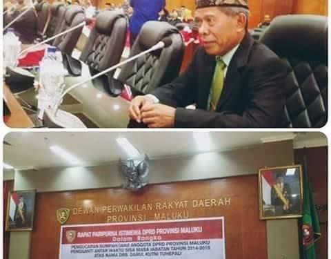 DPRD Maluku Apresiasi Perombakan Birokrasi Murad-Orno Jilid I
