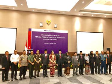 Pergantian Kepala BI Maluku, Upaya Jaga Kesinambungan Tugas