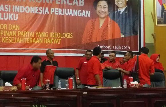 Konferda-Konfercab PDIP Maluku Ricuh, DPP Diprotes PAC