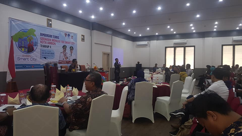 Master Plan Ambon Smart City Mulai Disusun