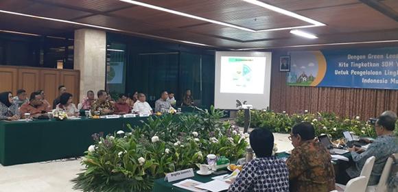 Kandidat Penerima Nirwasita Tantra KLHK, Walikota Paparkan Perkembangan Ambon