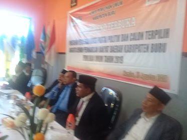 KPUD Buru Tetapkan 25 Anggota DPRD Terpilih