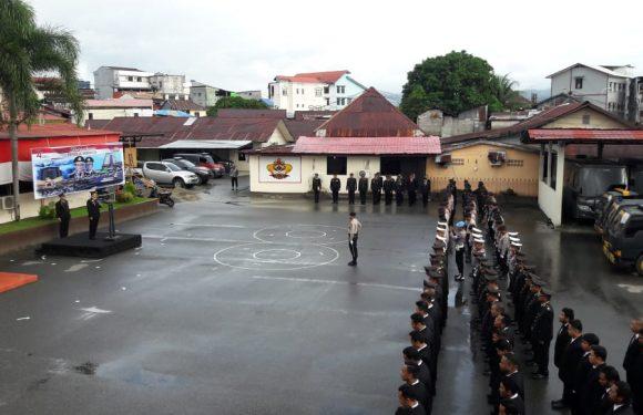 Polres Ambon Peringati HUT ke-74 Kemerdekan RI, Ini Pesan Kapolri