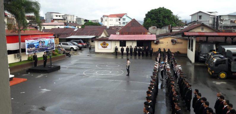 Polres Ambon Peringati HUT ke-74 Kemerdekan RI, Ini Pesan