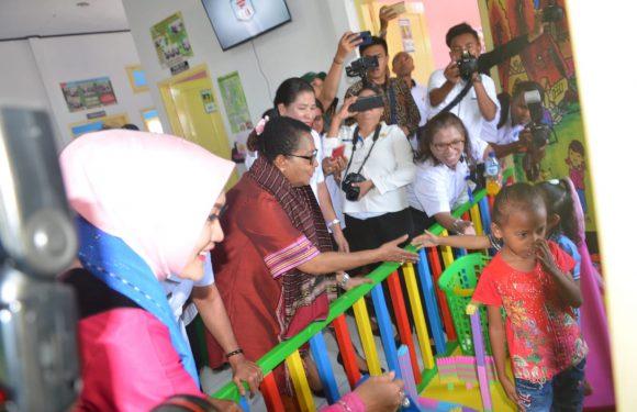 Canangkan Sekolah Ramah Anak di KKT, Menteri PPPA Minta Dukungan