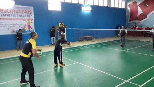 14 Ganda Ikuti Tournament Bulutangkis Kapolres Cup