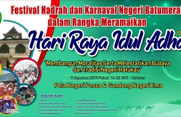 Pela Passo & Gandong Ema Bakal Isi Festival Hadrah & Karnaval Negeri Batumerah
