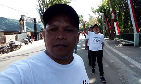 Jurnalis Partisipasi di Lomba Gerak Jalan Songsong HUT 444