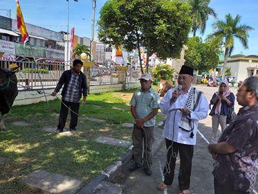 60 Hewan Qurban Diserahkan Pemkot ke Sejumlah Masjid