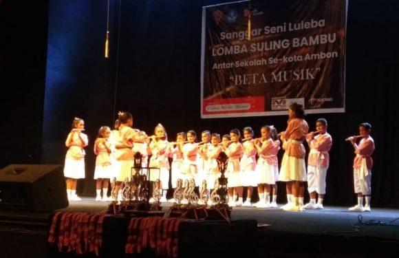 74 Peserta SD-SMP Ikuti Lomba Suling Bambu