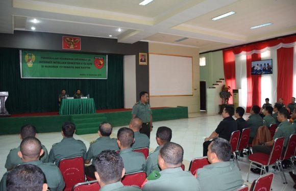 50 Personel TNI/AD Dibekali Keamanan Informasi di Internet Intelijen