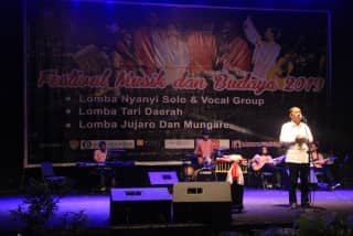 Walikota Sayangkan Festival Musik & Budaya Minim Publikasi