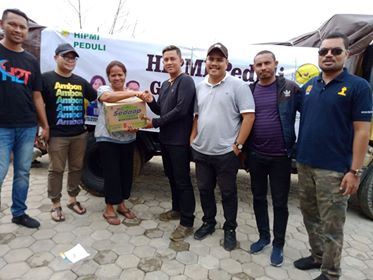 Peduli Korban Gempa, HIPMI Maluku Salurkan Bantuan