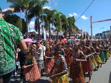 Mahasiswa Papua-Paguyuban Batak Ramaikan Amboina Music Carnival